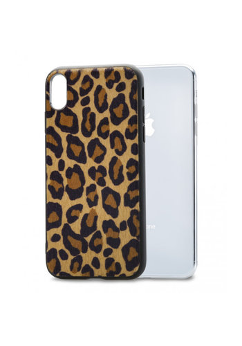 iPhone X/Xs Mobilize Gelly Case Brown Leopard