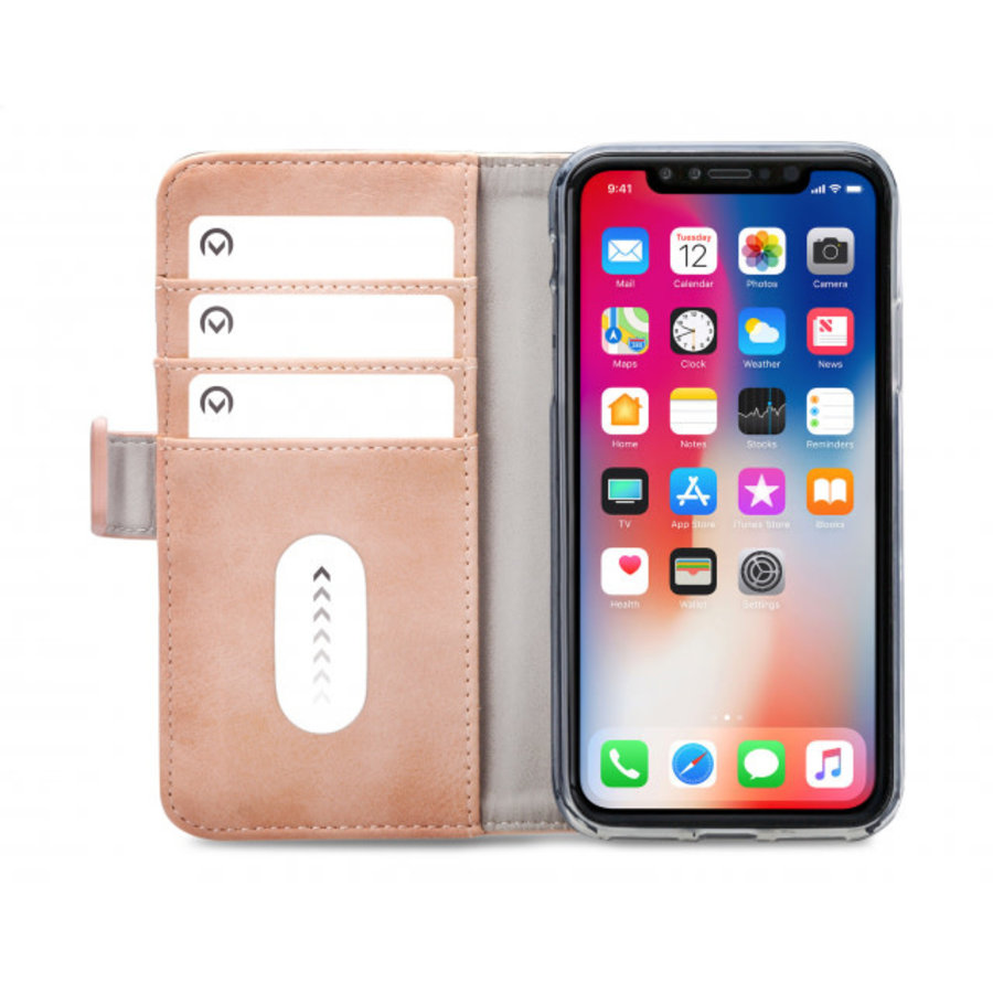 Mobilize Elite Gelly Wallet Book Case Apple iPhone XR Soft Pink-3