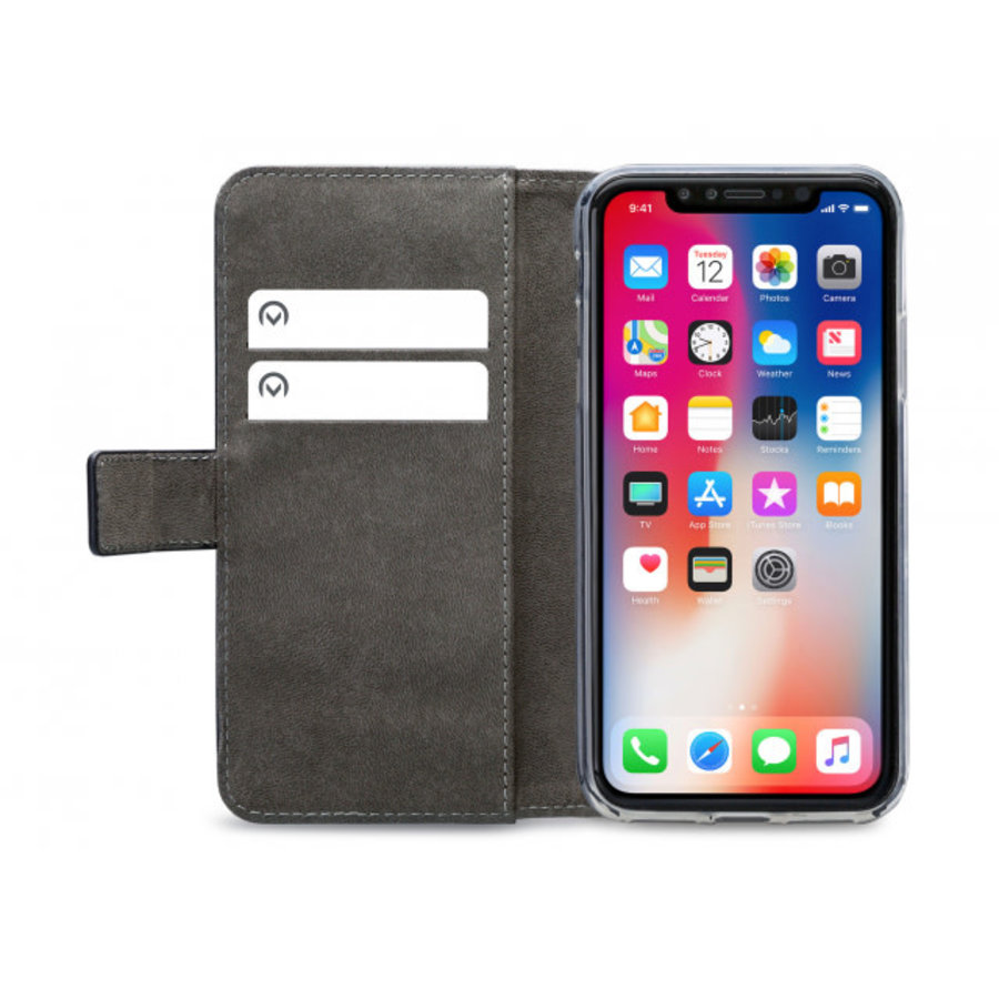 Mobilize Classic Gelly Wallet Book Case Apple iPhone XR Black-3