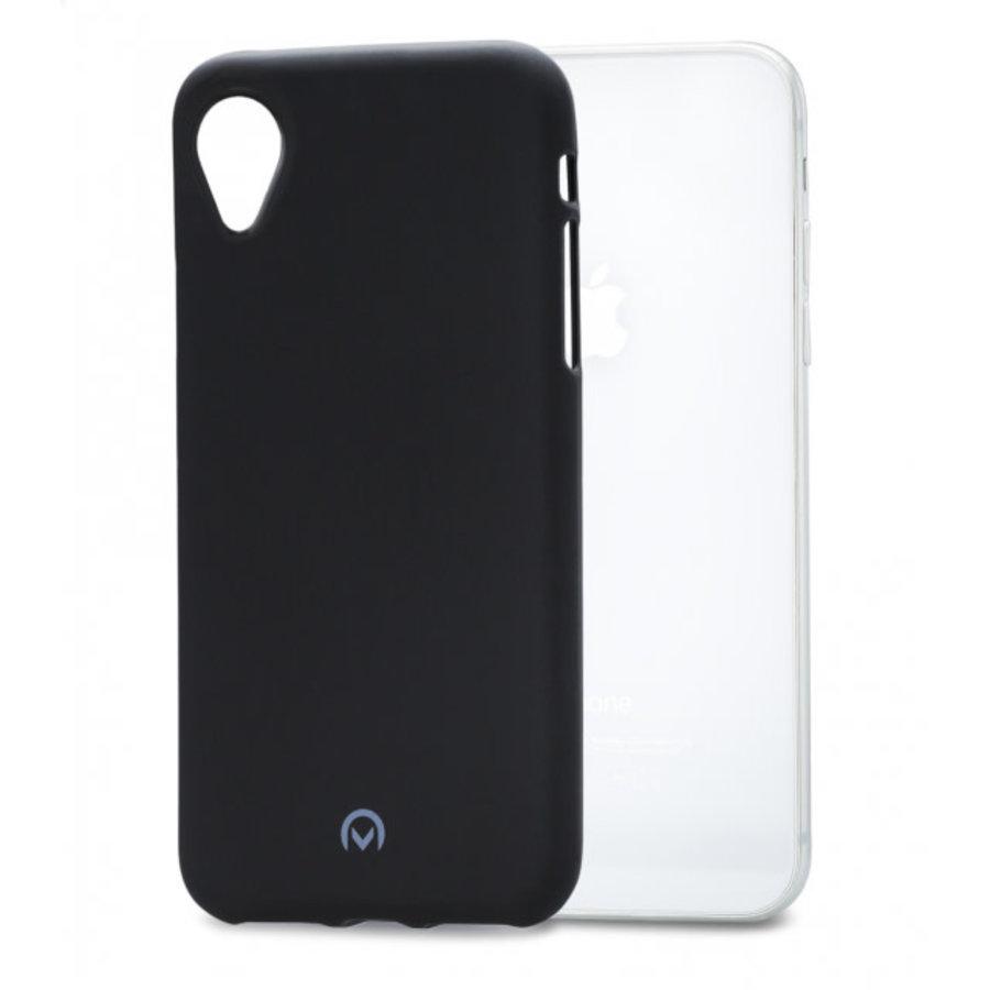 Mobilize Rubber Gelly Case Apple iPhone XR Matt Black-1