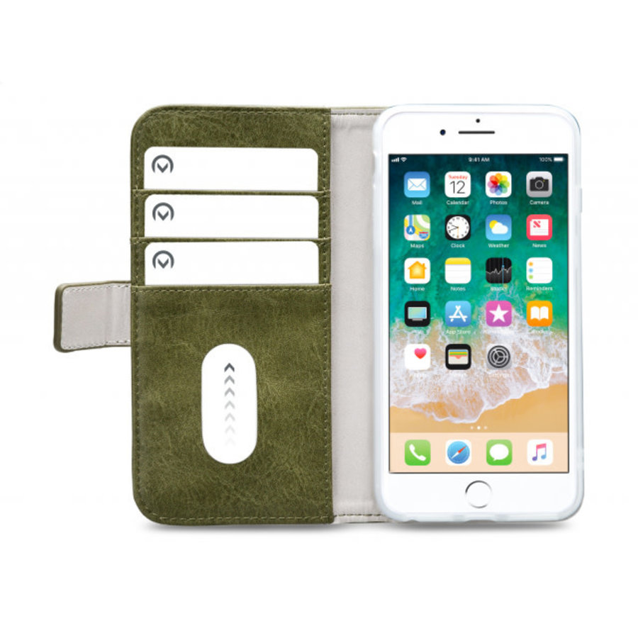 Mobilize Elite Gelly Wallet Book Case Apple iPhone 6/6S/7/8 Plus Green-3