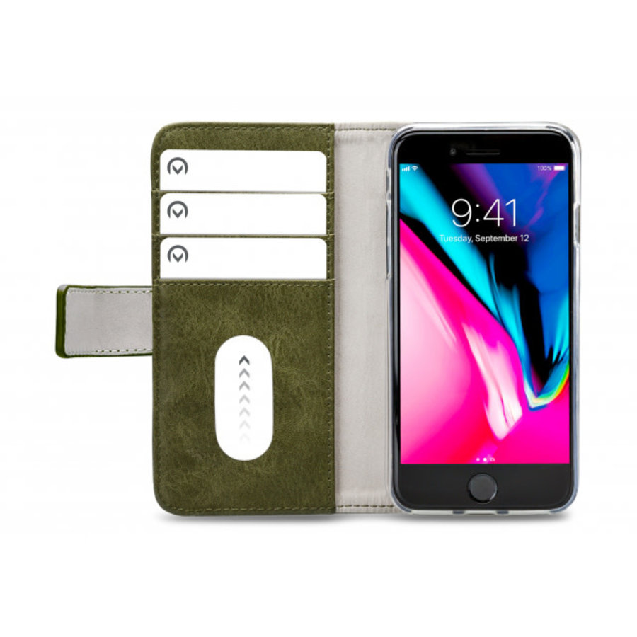 Mobilize Elite Gelly Wallet Book Case Apple iPhone 7/8 Green-3