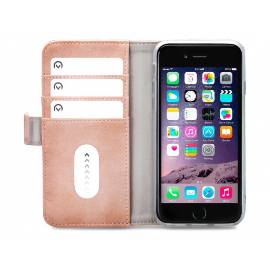 Mobilize Elite Gelly Wallet Book Case Apple iPhone 6/6S/7/8 Soft Pink-3