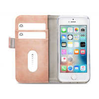 thumb-Mobilize Elite Gelly Wallet Book Case Apple iPhone 5/5S/SE Soft Pink-3