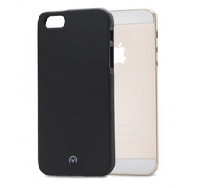 Mobilize Rubber Gelly Case Apple iPhone 5/5S/SE Matt Black