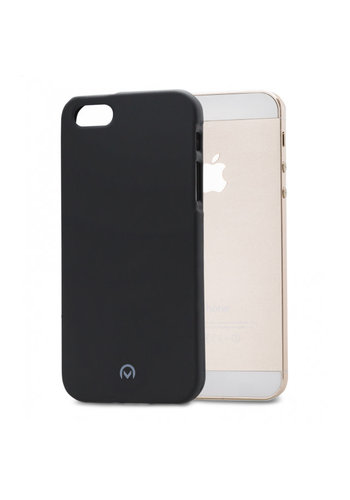 iPhone 5/5S/SE Mobilize Rubber Gelly Case Matt Black