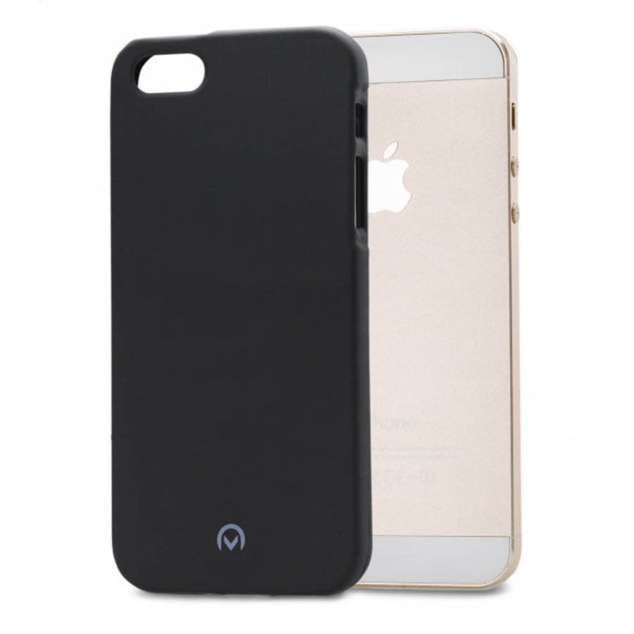 Mobilize Rubber Gelly Case Apple iPhone 5/5S/SE Matt Black-1