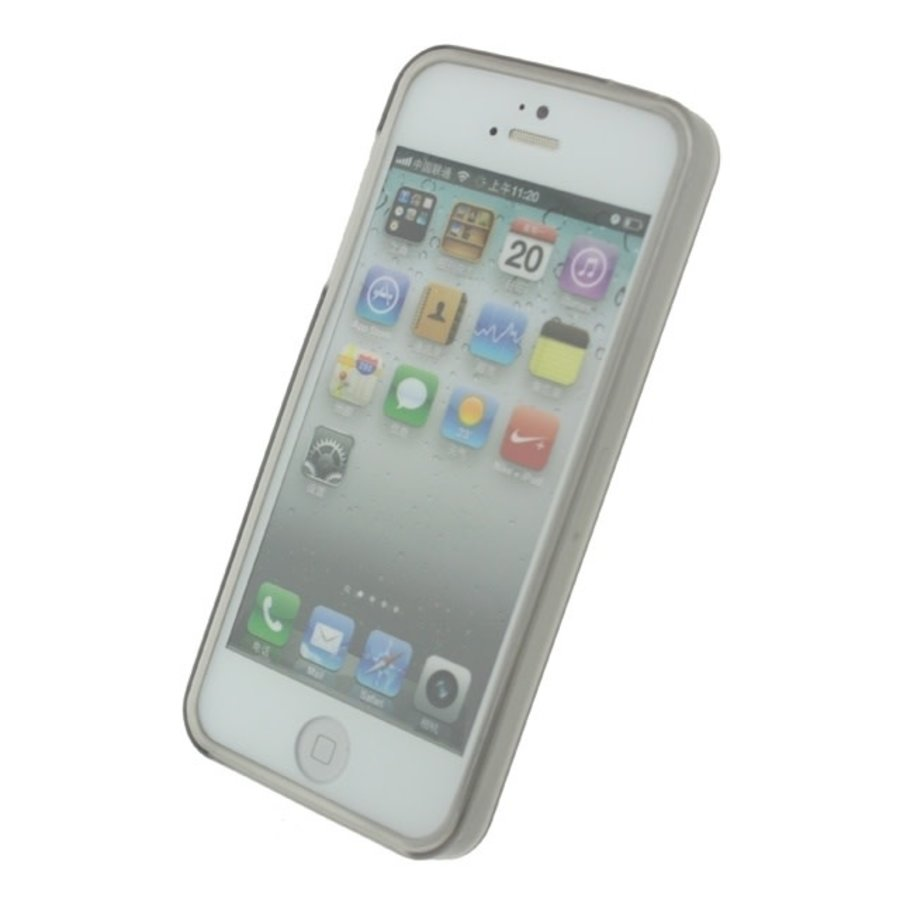 Mobilize Gelly Case Apple iPhone 5/5S/SE Smokey Grey-2
