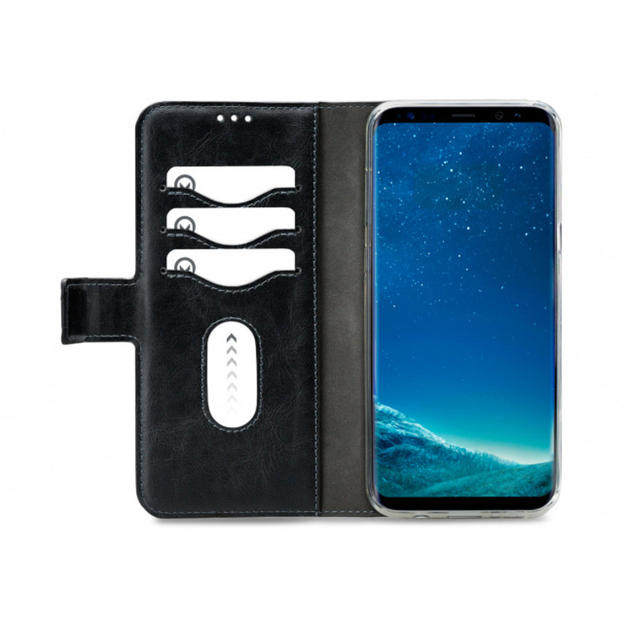 Mobilize Premium 2in1 Gelly Wallet Case Samsung Galaxy S8+ Black-3