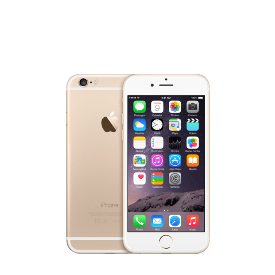 Apple iPhone 6  - 16GB - Goud - Zeer goed (marge)-1