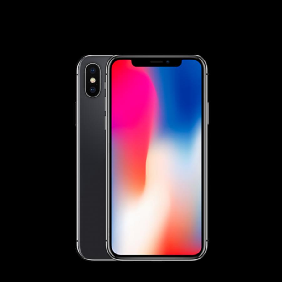 Apple iPhone X - 64GB - Space gray - Als nieuw - (refurbished)-1