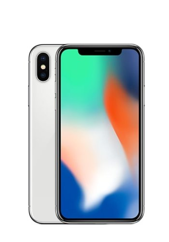iPhone X - 64GB - Silver