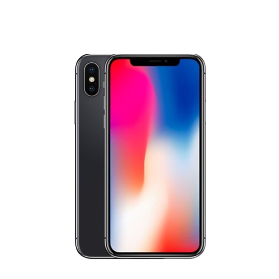 Apple iPhone X  - 64GB - Space gray - Goed (marge)-1