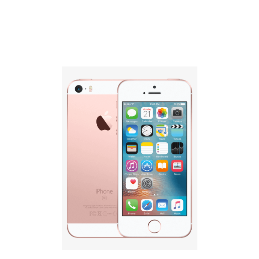 Apple iPhone SE - 32GB - Rose goud - Zeer Goed - (marge)-1
