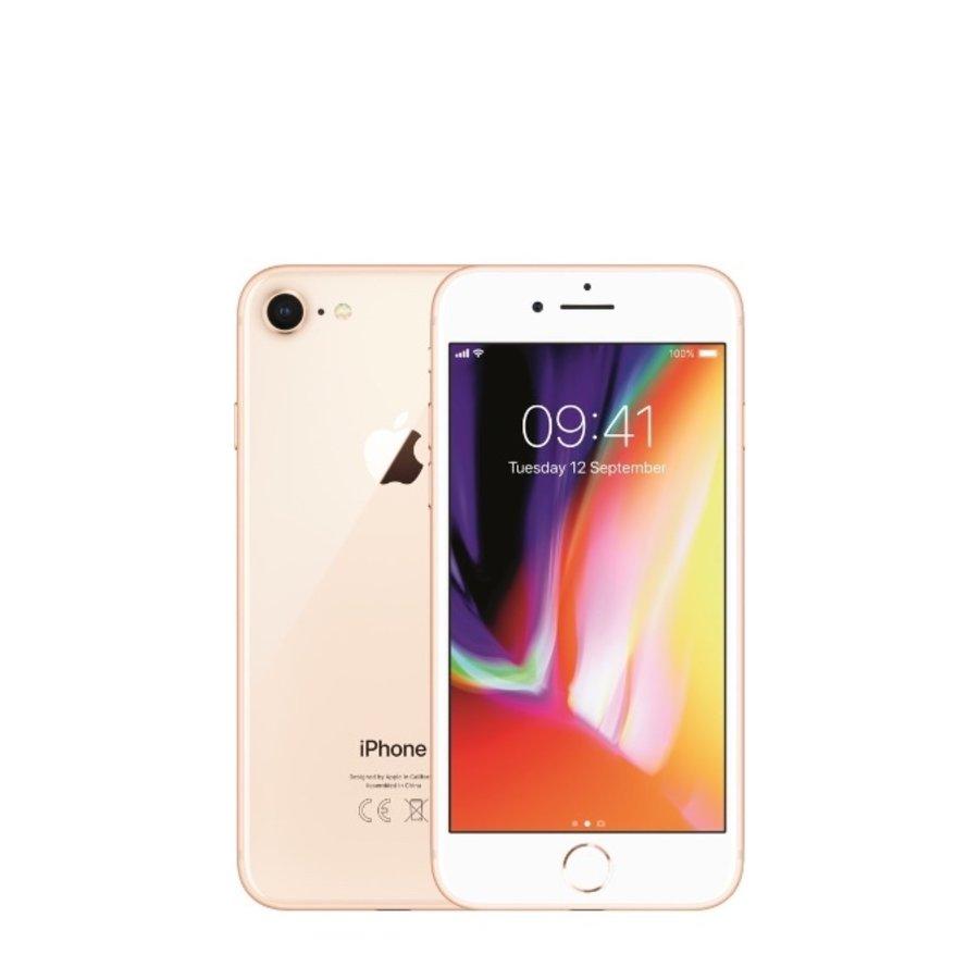 Apple iPhone 8 - 64GB - Gold - Zeer goed - (marge)-1