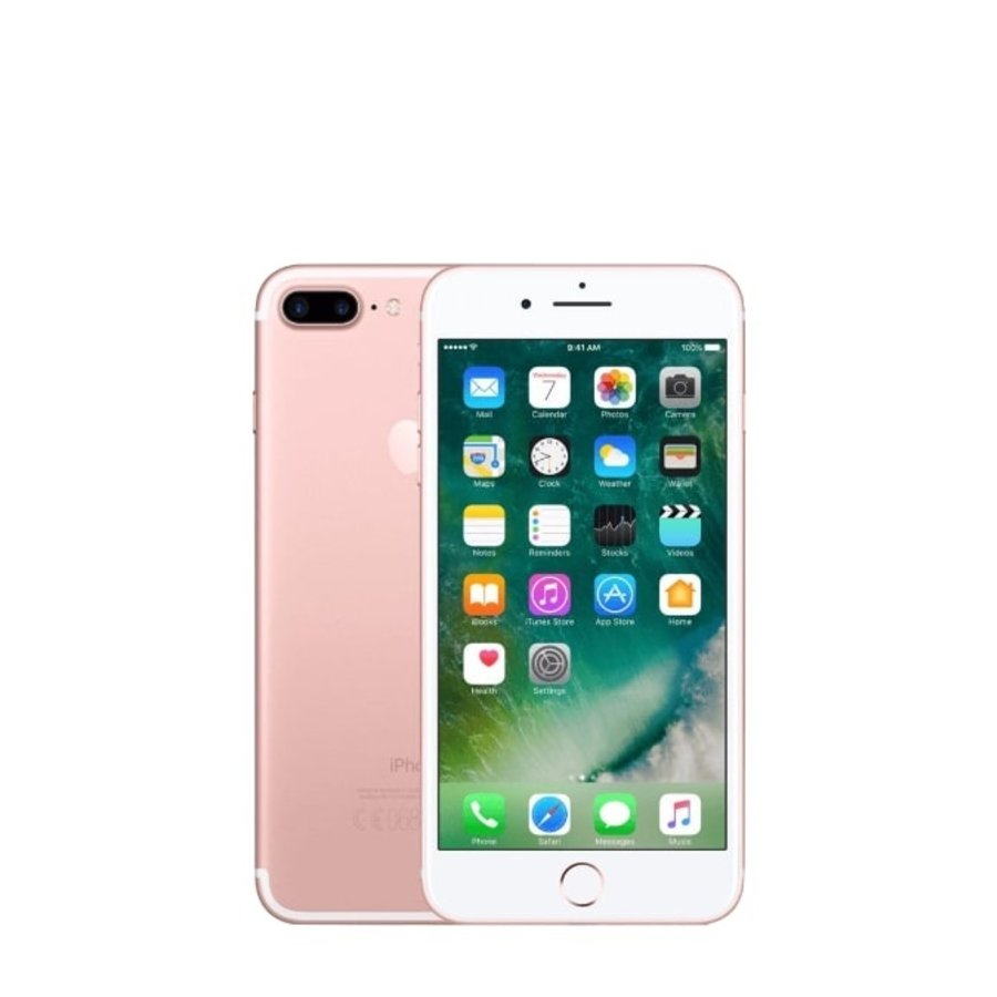 Apple iPhone 7 Plus - 128GB - Rosé Goud - Als nieuw - (marge)-1