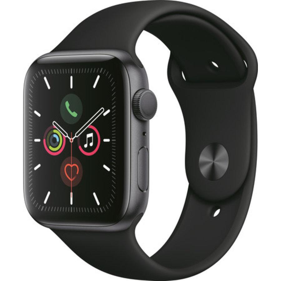 Apple Watch Series 5 (44mm) aluminium, sportbandje Grijs (Zwart)-2