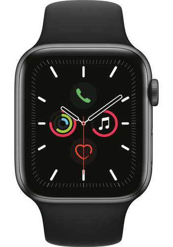 Apple Watch Series 5 (44mm) Zwart