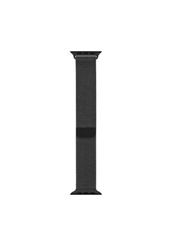 Bandje 42mm / 44mm - Spacezwart Milanees