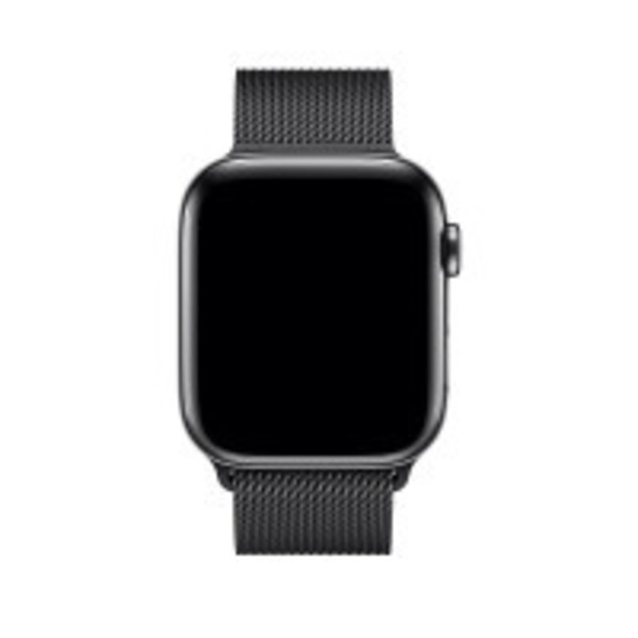 Apple Watch Bandje 42mm / 44mm - Spacezwart Milanees-3