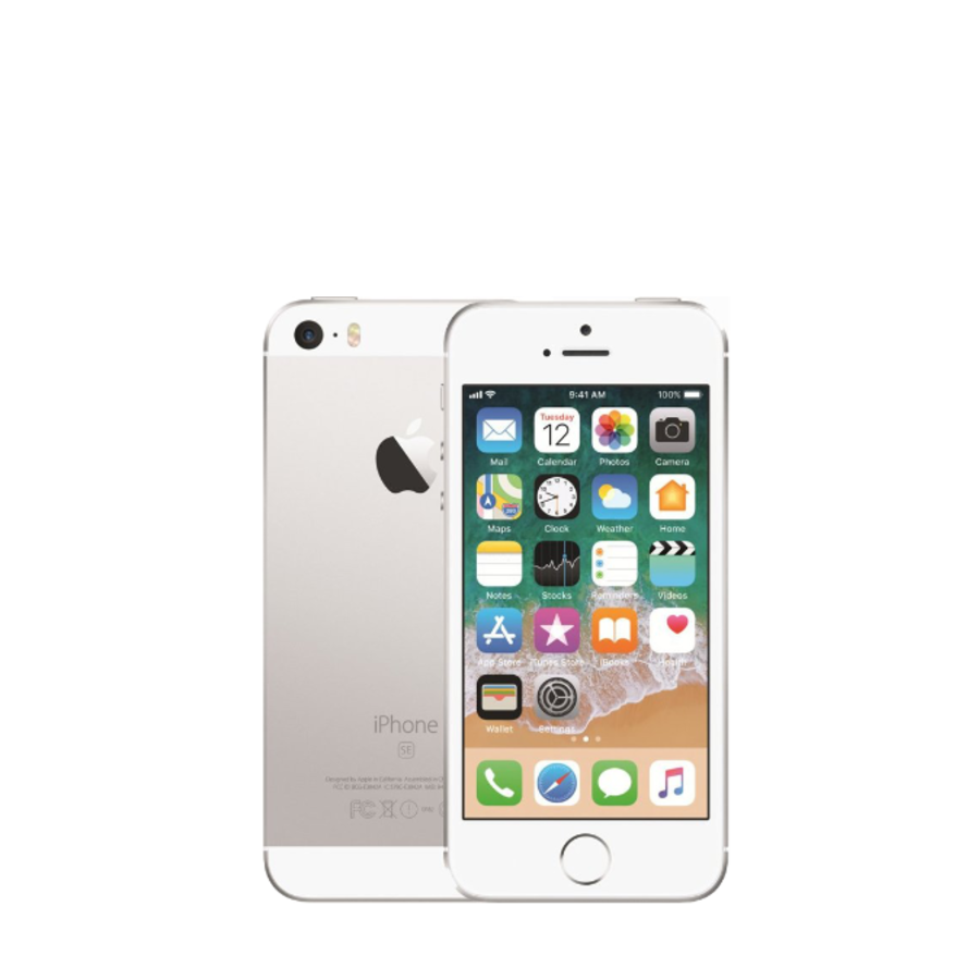 Apple iPhone SE - 64GB - Zilver - Goed - (marge)-1