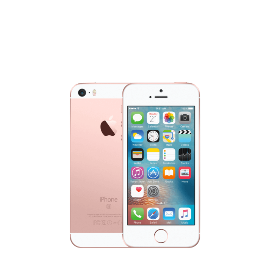 Apple iPhone - SE - 64GB - Rose Goud - Als Nieuw - (marge)-1