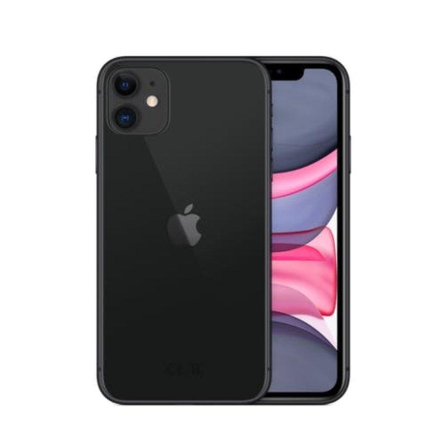 Apple iPhone 11- 64GB - Zwart - Als nieuw - (marge)-1