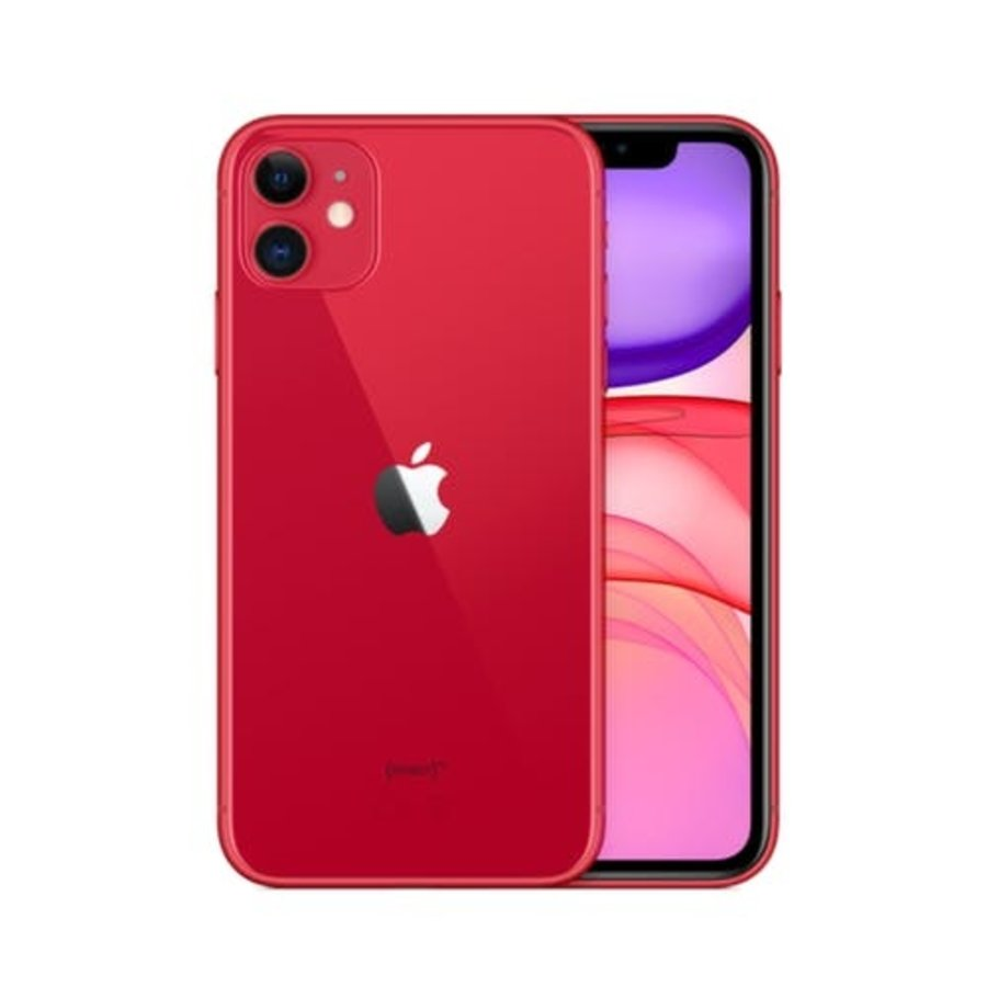 iPhone 11 - 64GB - Rood - NIEUW (marge)-1