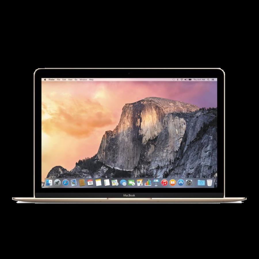 """MacBook 12"""" 1.1GHz i5 - 8GB/256GB Gold - 2015 - Als nieuw (marge)-1"""