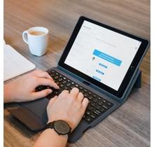 Apple iPad 10.2 (2019 / 2020/2021) Bluetooth Keyboard Bookcase - Zwart