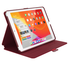Speck Balance Folio Case Apple iPad 10.2 (2019/2020) Dark Poppy Red