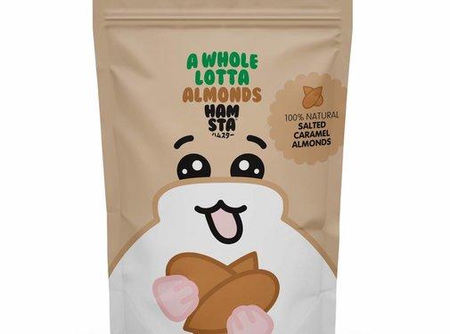 Hofman's Hofman's Salted Caramel Almonds - Hamsta Edition