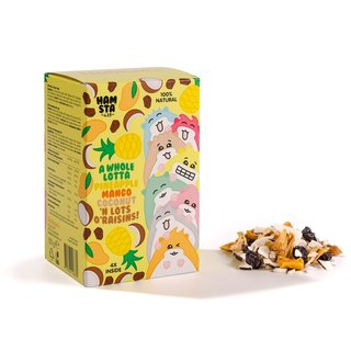 Hofman's Dried Fruits Family Pack - Hamsta Edition (4 Bags)