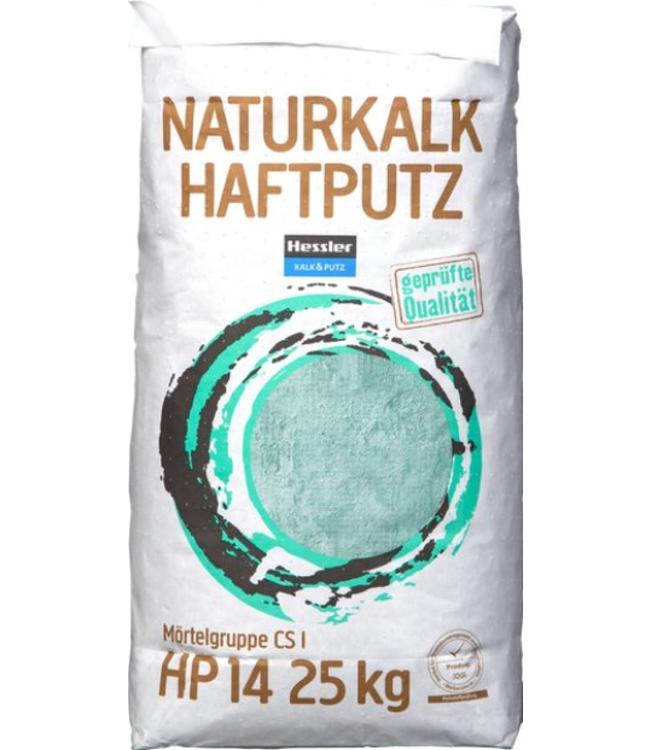Hessler NatuurKalk HP14 kalk hecht en vlakpleister, 25kg