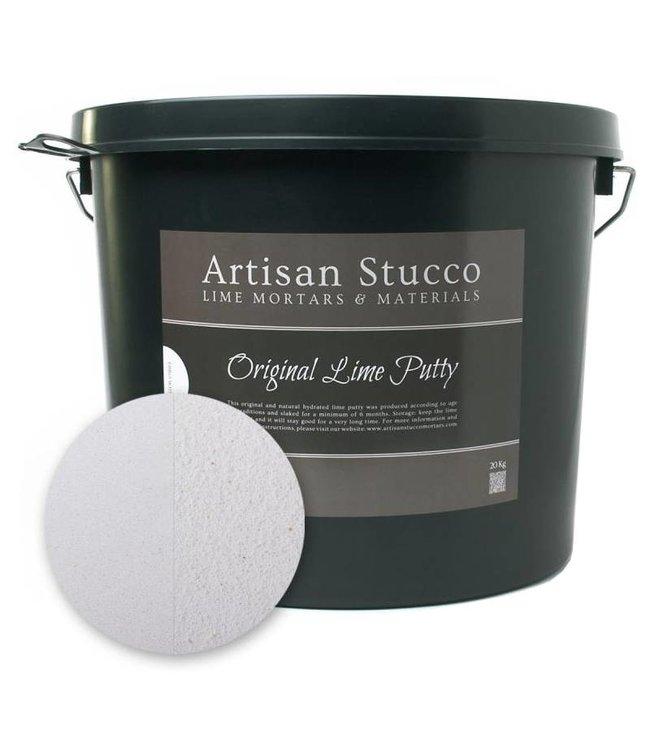 Artisan Stucco Luchtkalk, emmer 20kg Ebro White