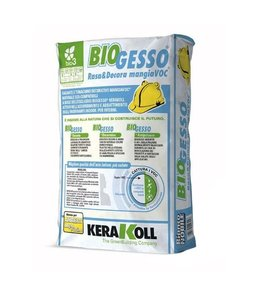 Kerakoll BioGesso gips fijnpleister