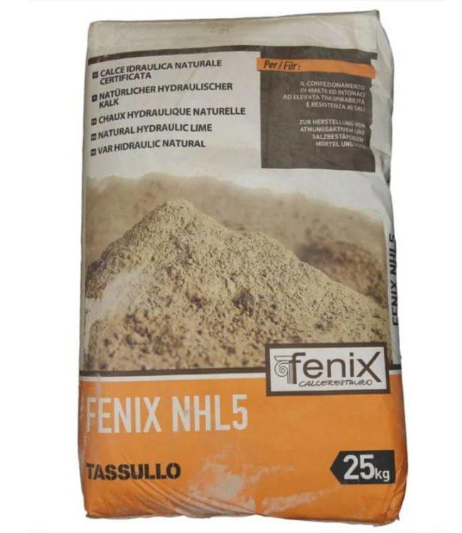 Unilit Fenix NHL5, hydraulisch kalk bindmiddel