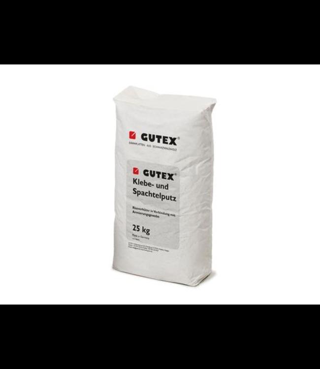 Gutex Hechtmortel en uitvlakmortel, 36 zakken à 25kg, pallet