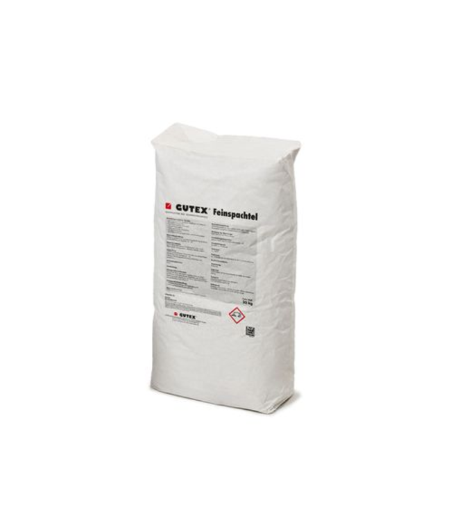 Gutex Fijnpleister, 20kg per zak, pallet