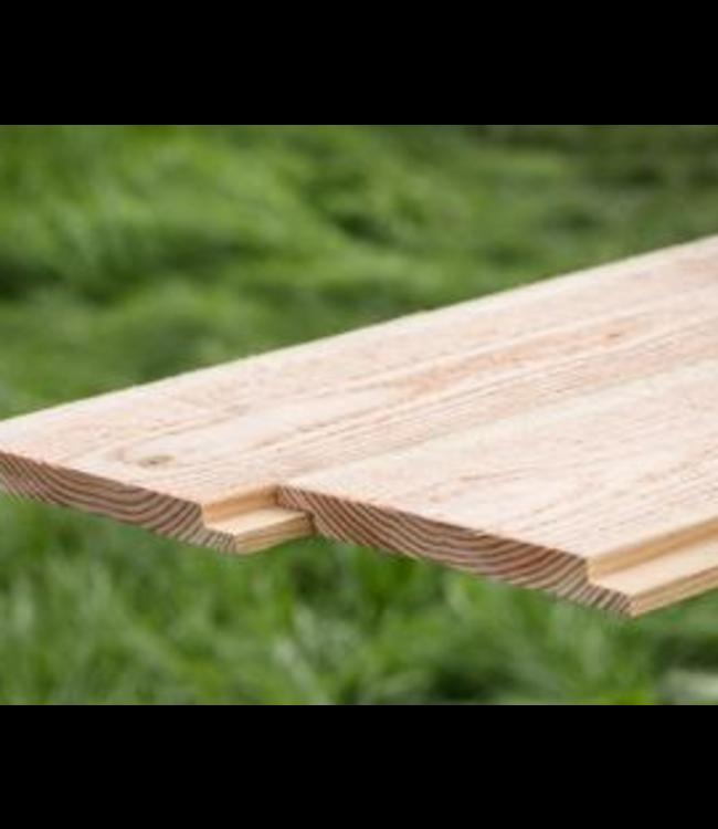 Sponning plank Douglas/Lariks