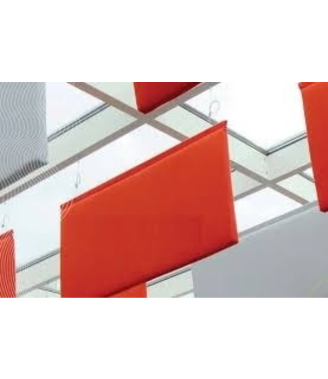 Metisse Eco Baffle plafond, geluidsabsorptie