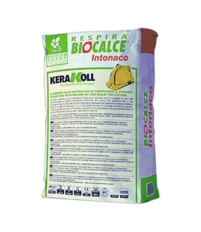 Kerakoll Biocalce Intonaco, stucmortel, 25kg