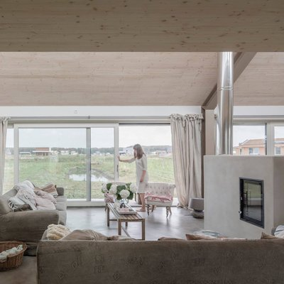 Almere Oosterwold, woning Fam. Kloos-Elzas
