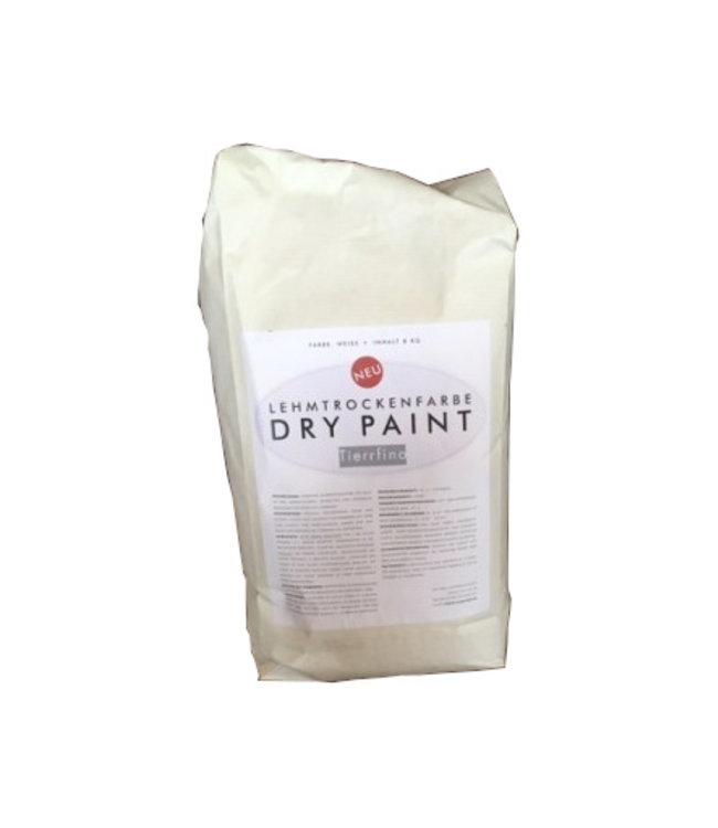 Tierrafino Dry Paint leemverf, Dover wit