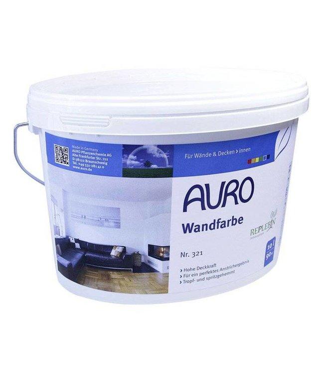 Auro 321 Porseleinwit, muurverf op kleur