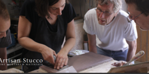 Artisan Stucco Workshop: Natural lime putty