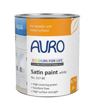 Auro Nr. 517 Dekkende zijdeglanslak wit