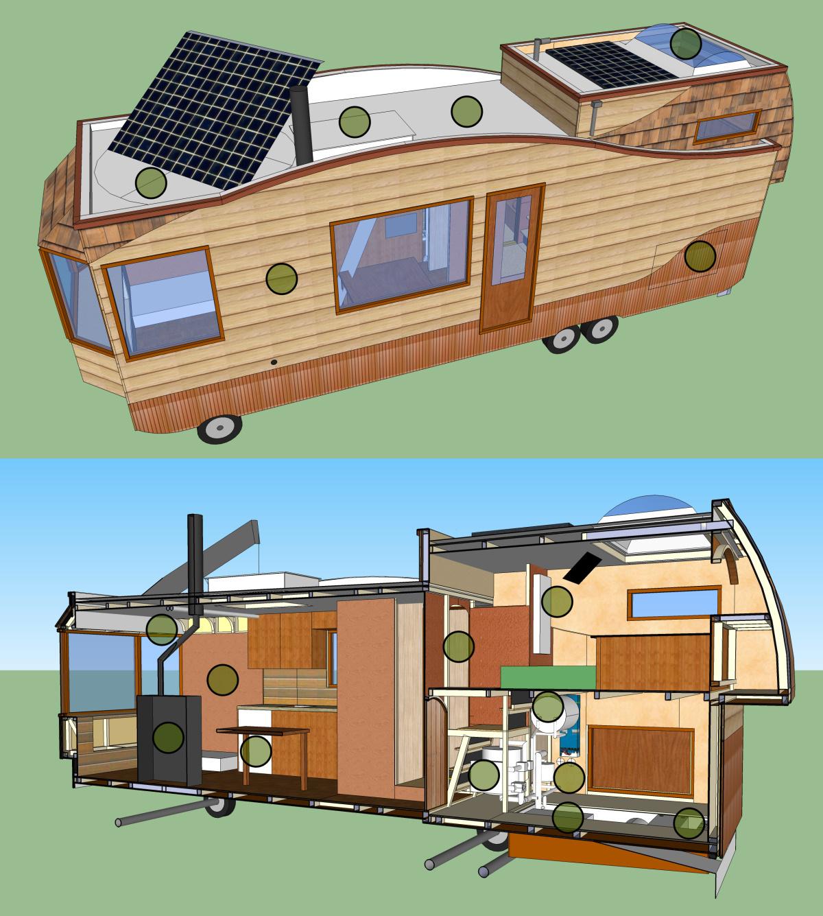 Tiny House ontwerpcursus met Joris Boons