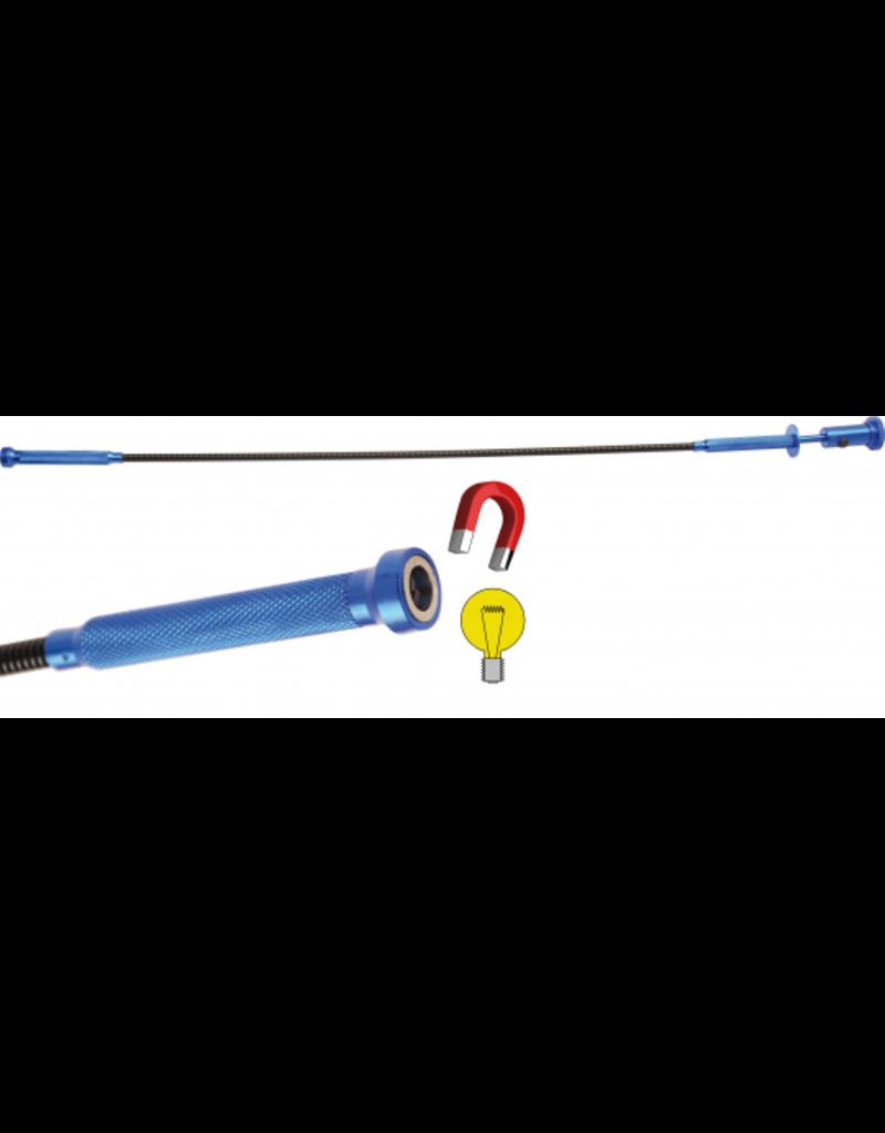 BGS Grijper-lampje-magneet-combi 3 in 1 | 615 mm