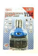BGS LED hoofdlamp met focus 3 W